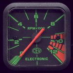 CEV rev counter